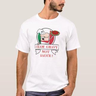 チームグレービーないソース Tシャツ