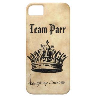 チームサケの幼魚-キャサリン・パーの署名および王冠 iPhone SE/5/5s ケース