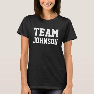 チームジョンソンはそれを個人化します Tシャツ