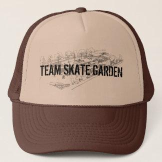 チームスケートの庭のトラック運転手の帽子 キャップ
