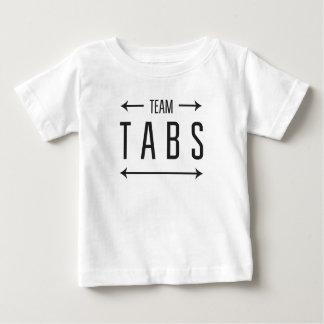 チームタブ ベビーTシャツ