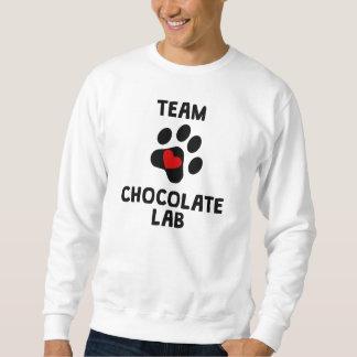 チームチョコレート実験室 スウェットシャツ