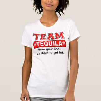 チームテキーラは、キャッチフレーズをカスタマイズ Tシャツ