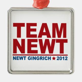 チームニュート・ギングリッチ2012年 メタルオーナメント