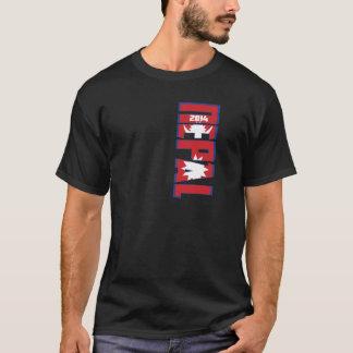 チームネパールのワールドカップ2014年 Tシャツ