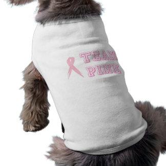 チームピンク犬のティー ペット服