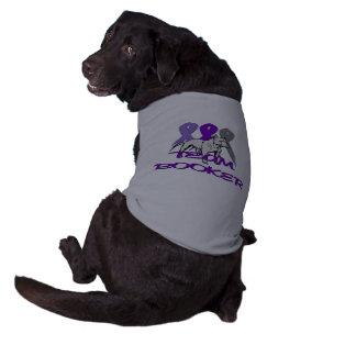 チームブッカーの子犬のワイシャツ ペット服
