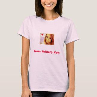 チームブリッタニーケイのワイシャツ Tシャツ