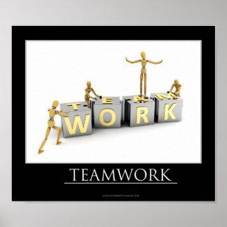 チームワークの概念-ポスター ポスター