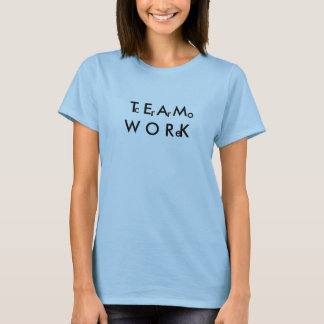 チームワークのTシャツ Tシャツ