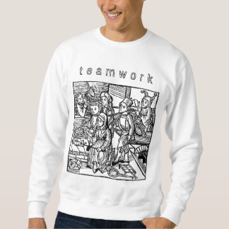 チームワーク! スウェットシャツ