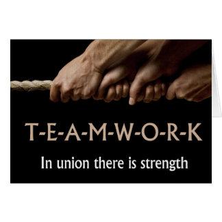 チームワーク: 連合強さ カード