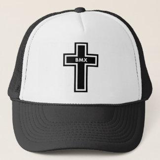 チーム十字BMX十字のトラック運転手の帽子 キャップ