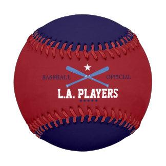チーム名前入りな球 ベースボール