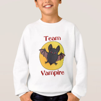 チーム吸血鬼(こうもり) スウェットシャツ
