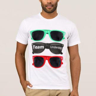 チーム敗者のsunglassのティー-白 tシャツ