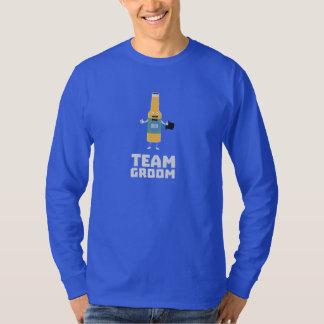チーム新郎Beerbottle Zu77s Tシャツ