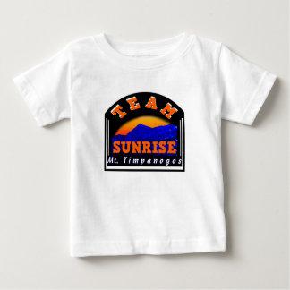 チーム日の出Mt Timpanogos ベビーTシャツ