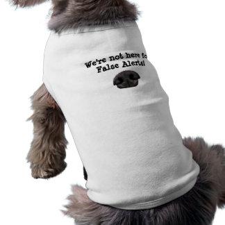 チーム犬のワイシャツ ペット服
