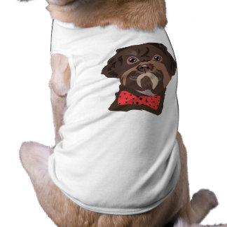 チーム狂暴なワイシャツ ペット服