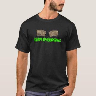 チーム眉毛 Tシャツ