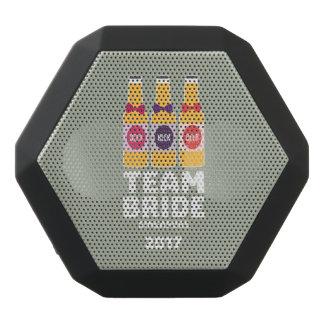 チーム花嫁シンガポール2017 Z4gkk ブラックBluetoothスピーカー