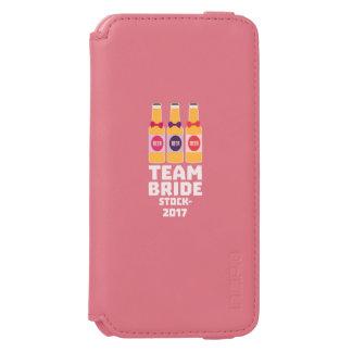 チーム花嫁ストックホルム2017 Z0k5v Incipio Watson™ iPhone 6 財布ケース