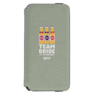 チーム花嫁セント・ピーターズバーグ2017 Zuv92 Incipio Watson™ iPhone 5 財布型ケース