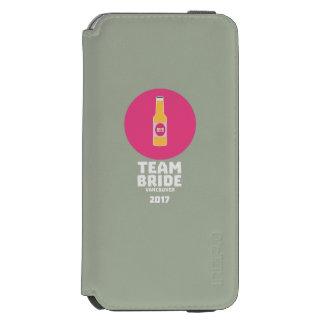 チーム花嫁バンクーバー2017年のHenparty Zkj6h Incipio Watson™ iPhone 6 財布ケース