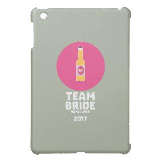 チーム花嫁バンクーバー2017年のHenparty Zkj6h iPad Miniケース