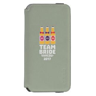 チーム花嫁バンクーバー2017 Z13n1 Incipio Watson™ iPhone 5 財布型ケース
