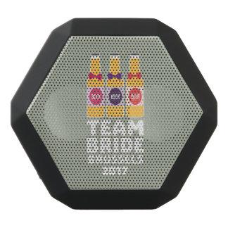 チーム花嫁ブリュッセル2017 Zfo9l ブラックBluetoothスピーカー