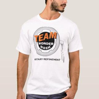 チーム驚異の洗浄 Tシャツ