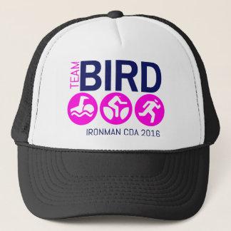 チーム鳥のピンク キャップ