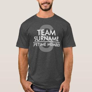 チーム(姓)寿命のメンバー Tシャツ