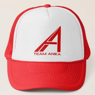 チームAnikaの帽子 キャップ