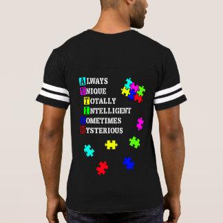 チームAspie (自閉症) Tシャツ