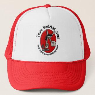 チームBadAssのレトロのトレーニングの帽子! キャップ