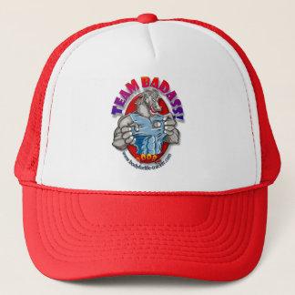 チームBadAssの網の背部トレーニングの帽子! キャップ