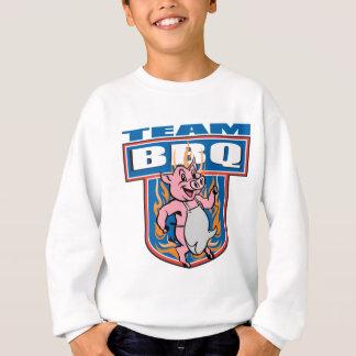 チームBBQのポーク スウェットシャツ