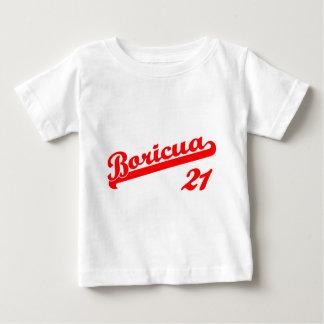 チームBoricua 21 ベビーTシャツ