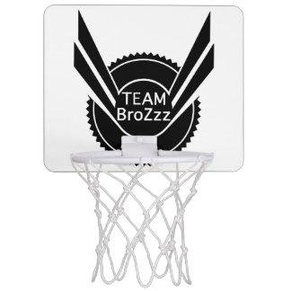 チームBroZzzの小型バスケットボール ミニバスケットボールゴール