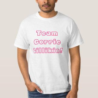 チームCorrie Gillikinのレトロのティー Tシャツ