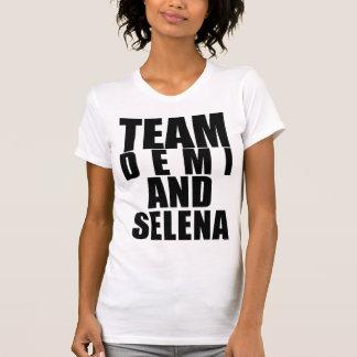チームDemi及びSelenaのTシャツ Tシャツ