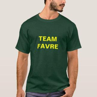 チームFAVRE Tシャツ