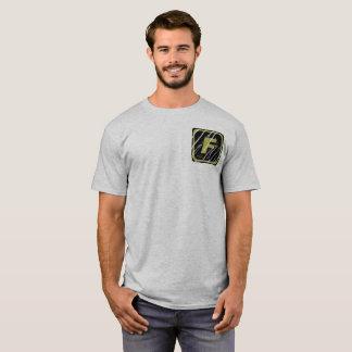 チームFORTIによって傷付けられるロゴの基本的なTシャツ Tシャツ