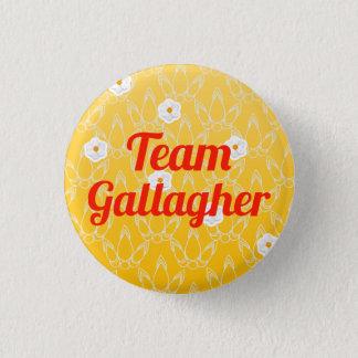 チームGallagher 3.2cm 丸型バッジ