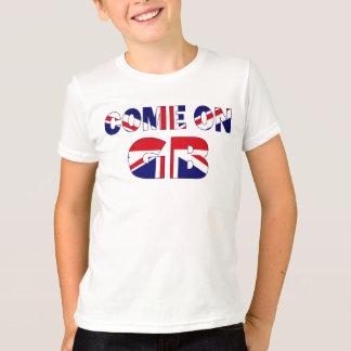 チームGBの英国国旗 Tシャツ