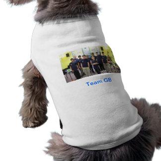 チームGB犬のワイシャツ ペット服