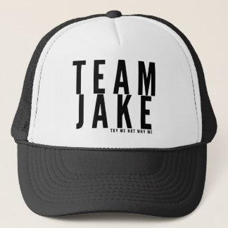 チームJAKEのトラック運転手の帽子 キャップ